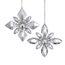 Kurt Adler Jewel Snowflake Ornament #D2772