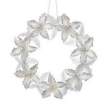 Kurt Adler Glitter Wreath Ornament #T2330