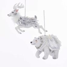 Kurt Adler Winter Animal Ornament #TD1598
