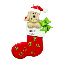 Rudolph & Me Christmas Dog Stocking Personalized Ornament #RM952