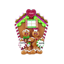 Rudolph & Me Gingerbread House Family of 2 Personalized Tabletop #TT110-2