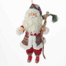 Kurt Adler Northland Santa Ornament #J6036