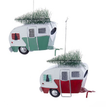 Kurt Adler Camping Car with Tree Ornament #T2456