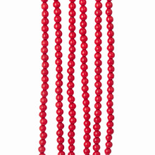 Kurt Adler Red Bead Garland #TN0066/R