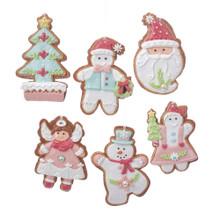 Kurt Adler Pastel Christmas Cookies Ornament #D3383