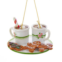 Kurt Adler Afternoon Hot Cocoa Time Ornament #TD1597