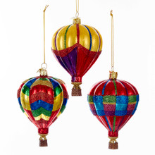 Kurt Adler Hot Air Balloon Ornament #NB1142