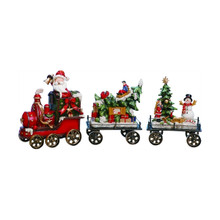 Santa's Holiday Train, Set of 3 #W9115