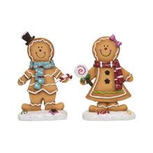 Gingerbread Boy & Girl #Y4797