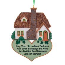 Kurt Adler Irish Blessing Home Ornament #A1842