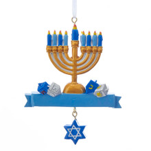 Kurt Adler Hanukkah Ornament #W8379