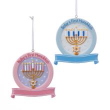 Kurt Adler Baby's 1st Hanukkah Ornament #W8380