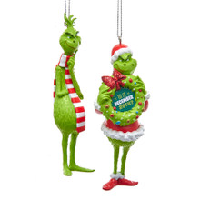 Kurt Adler Grinch Blow Mold Ornaments #GRH1181