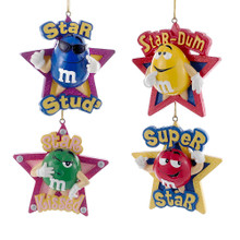 Kurt Adler M&M Star Ornament #MM2909
