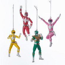 Kurt Adler Power Rangers Blow Mold Ornaments #RP1171