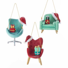Kurt Adler Mid Century Style Chair Ornament #C7667