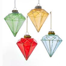 Kurt Adler Mid Century Diamond Shaped Ornament #T2299