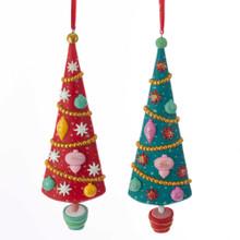 Kurt Adler Mid Century Tree Ornament #T2302