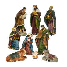 Kurt Adler 9- Piece Nativity Figure Set #N0290