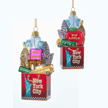 Kurt Adler NYC Bag Ornament #C7564