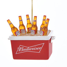 Kurt Adler Budweiser Bottles in Cooler Ornament #AB2171