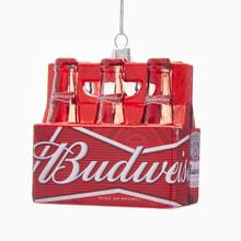 Kurt Adler Budweiser 6- Pack Ornament #AB4171