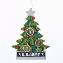Kurt Adler U.S. Army Christmas Tree Ornament #AM2181