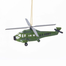 Kurt Adler U.S. Army Helicopter Ornament #AM2182