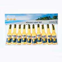 Kurt Adler Corona Beer Bottle Light Set #CE9161