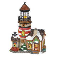 Department 56 West Haberdine Lighthouse #6000608
