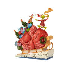 Department 56 by Jim Shore Grinch on Sleigh #6002069