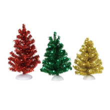 Department 56 Magical Tinsel Trees, Set of 3 #6001732