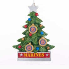 Kurt Adler U.S. Marines Christmas Tree Ornament #MC2183