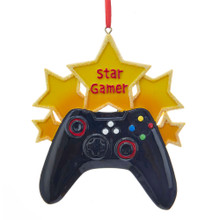 Kurt Adler Star Gamer Ornament #W8364