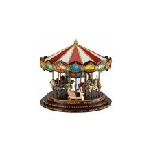 Mr. Christmas Deluxe Marquee Carousel