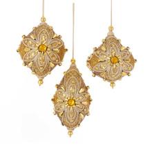 Kurt Adler Gold Gems Ornament #S4380
