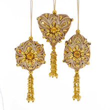 Kurt Adler Golden Elegance Mini Ornaments #S4388