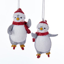 Kurt Adler Skating Penguin Ornament #C7632