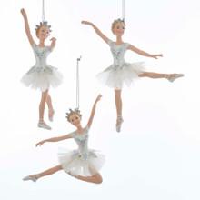 Kurt Adler Ballerina Ornament #E0258