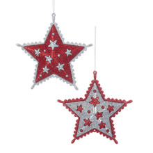 Kurt Adler Star Ornament #T2295