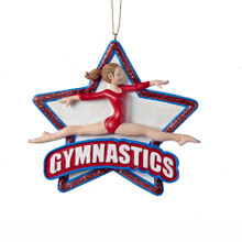 Kurt Adler Gymnastics Girl Ornament #C8816