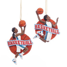Kurt Adler Basketball Ornament #E0202
