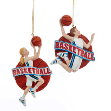 Kurt Adler Basketball Ornament #E0203