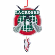 Kurt Adler Lacrosse Ornament #W8384