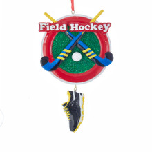 Kurt Adler Field Hockey Ornament #W8385