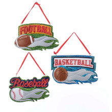 Kurt Adler Sports Ornament #W8399