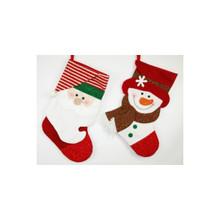 Santa & Snowman Stocking #20655210002