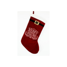 Merry Christmas Santa Belt Stocking #28721190000