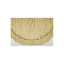 Gold Satin Beaded Tree Skirt #38573560003