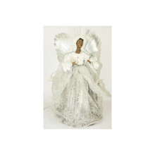 16in Fiber Optic African American Angel #44284000000